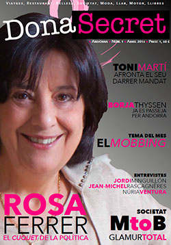 Revista Dona Secret 1 - Abril 2015 - Rosa Ferrer