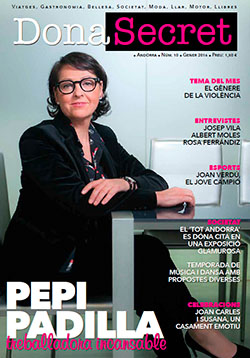 Revista Dona Secret 10 - Gener 2016 - Pepi Padilla