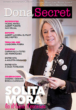 Revista Dona Secret 12 - Març 2016 - Solita Mora