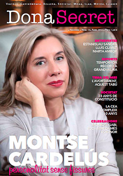 Revista Dona Secret 13 - Abril 2016 - Montse Cardelús