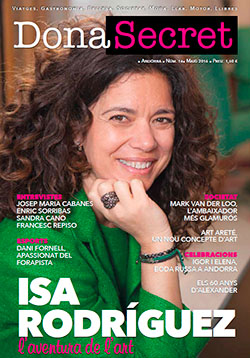 Revista Dona Secret 14 - Maig 2016 - Isa Rodríguez