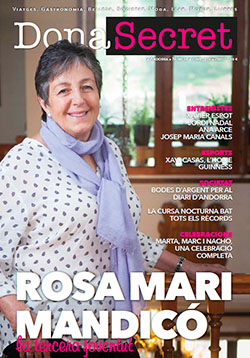 Revista Dona Secret 15 - Juny 2016 - Rosa Mari Mandicó
