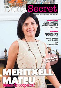 Revista Dona Secret 18 - Setembre 2016 - Meritxell Mateu