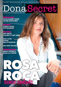 Revista Dona Secret 19 - Octubre 2016 - Rosa Roca