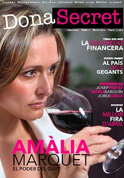 Revista Dona Secret 2 - Maig 2015 - Amàlia Marquet