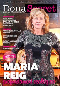 Revista Dona Secret 21 - Desembre 2016 - Maria Reig
