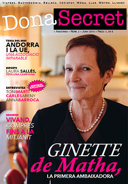Revista Dona Secret 3 - Juny 2015 - Ginette de Matha