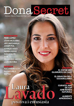 Revista Dona Secret 35 - Febrer 2018 . Laura Lavado