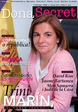 Revista Dona Secret 4 - Juliol 2015 - Trini Marín