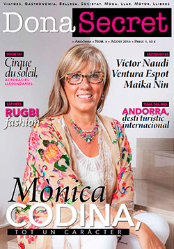 Revista Dona Secret 5 - Agost 2015 - Mònica Codina