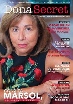 Revista Dona Secret 7 - Octubre 2015 - Conxita Marsol