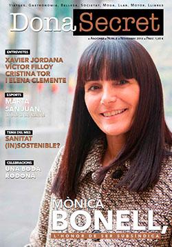 Revista Dona Secret 8 - Novembre 2015 - Mònica Bonell