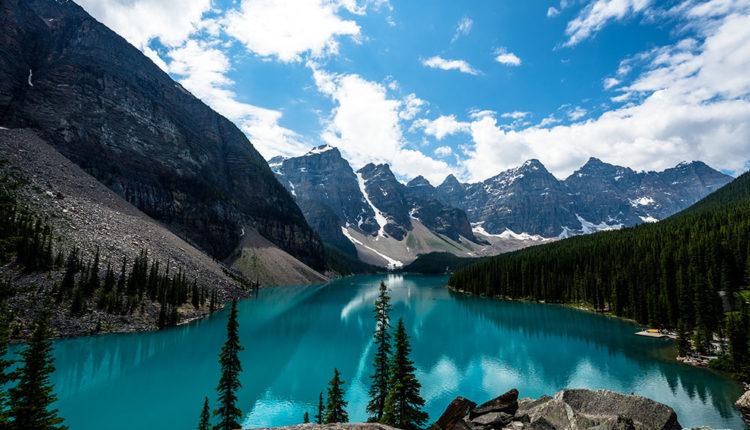 Canadà i Alaska moraine llac