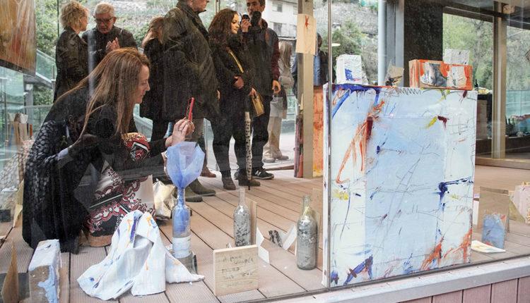 Exposició d'artistes a La Peixera