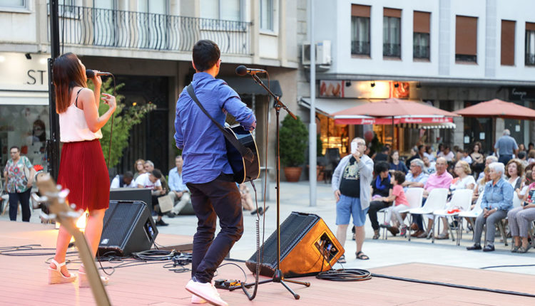 Concert Jove a plaça coprínceps d'escaldes-engordany