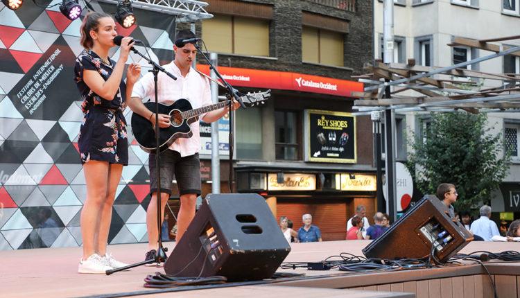 Laia i Marc concert jove