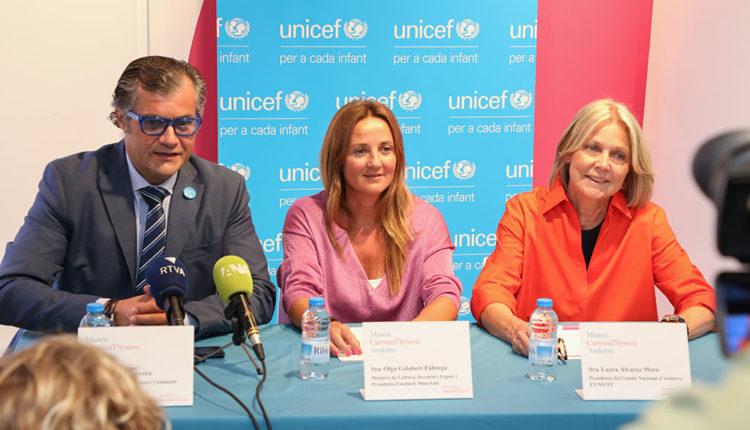 UNICEF i Museu carmen thyssen andorra