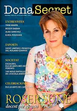 Revista Dona Secret 40 - Juliol 2018 - Roser Suñé