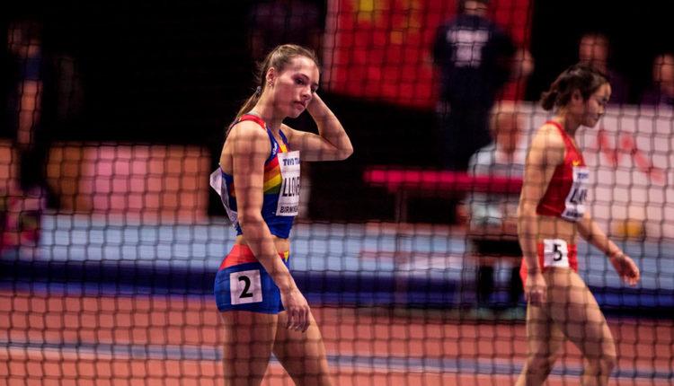 Cristina Llovera a competició