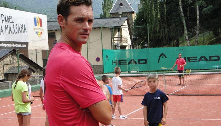Jean Ba Poux entrenador de tennis i pàdel
