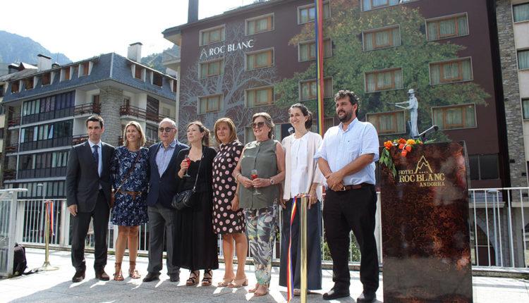 Inauguració Façana Hotel Roc Blanc