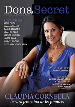 Revista Dona Secret 42 - Septiembre 2018 - Clàudia Cornella
