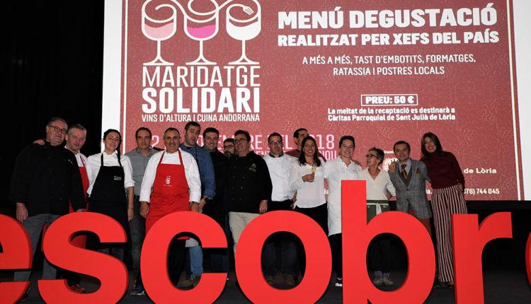 Xefs maridatge solidari sant julià de lòria