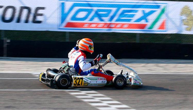 Àlex Machado campió rok cup karting