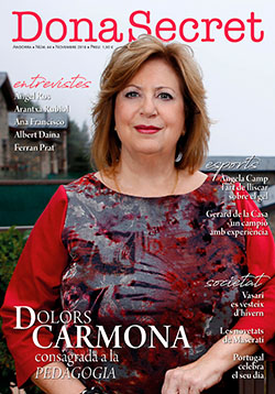 Revista Dona Secret 44 - Noviembre 2018 - Dolors Carmona