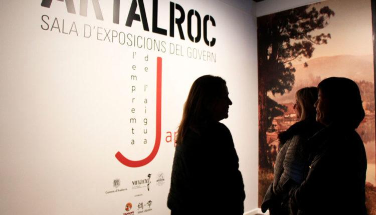 Artalroc exposició japó l'empremta de l'aigua