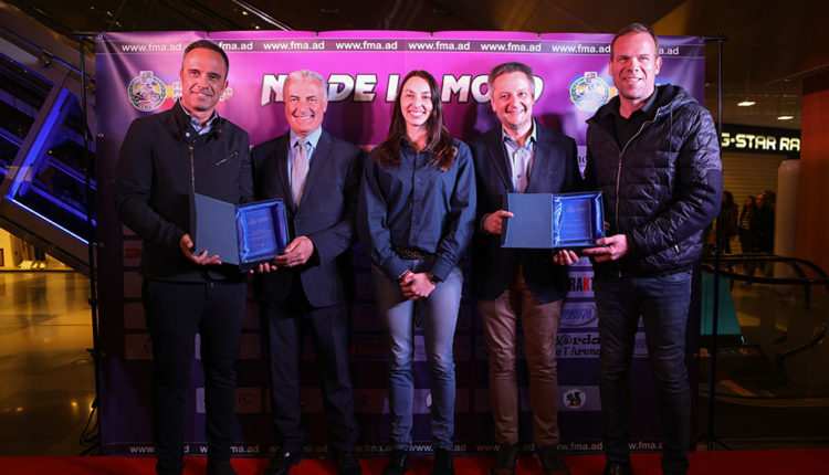 Gilbert Saboya, Natàlia Gallego i Josep Maria Cabanes