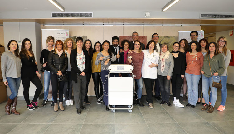 Assistents al Simposi Indiba Andorra Comercial Renoir