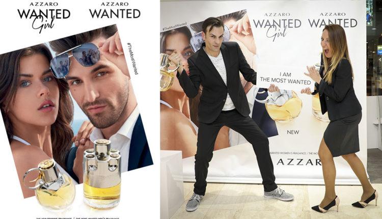 Campanya Azzaro Wanted a Gala Perfumeries