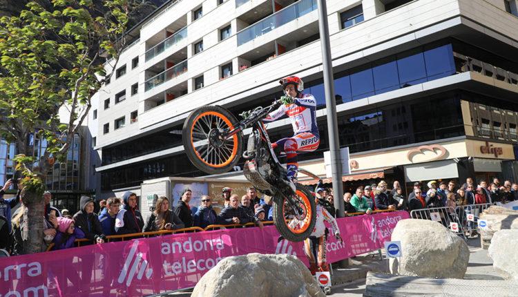 Toni Bou al Trial 3 Nacions d'Andorra