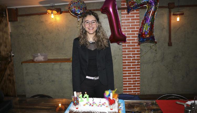 Ana Sofia Rocha da Costa al seu aniversari