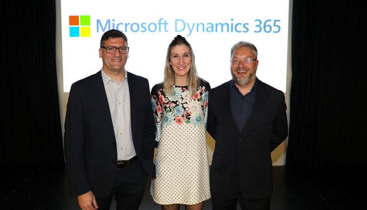Equip de SucASuc que va presentar Microsoft Dynamics 365