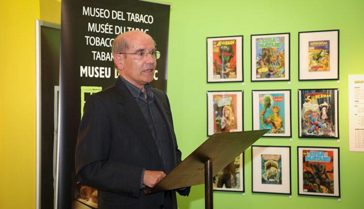 Joan Ganyet a la presentació del seu llibre