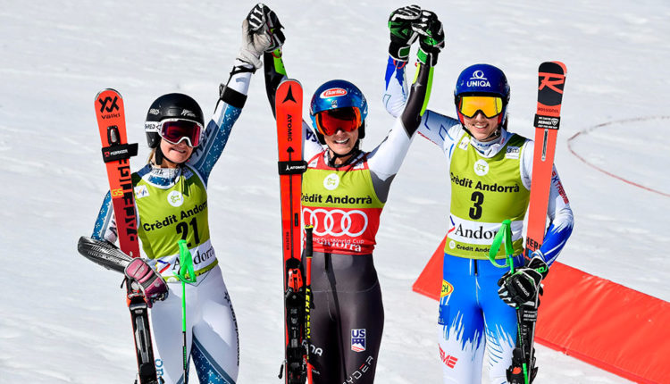 Guanyadores de Copa del món d'esquí 2019 a Grandvalira