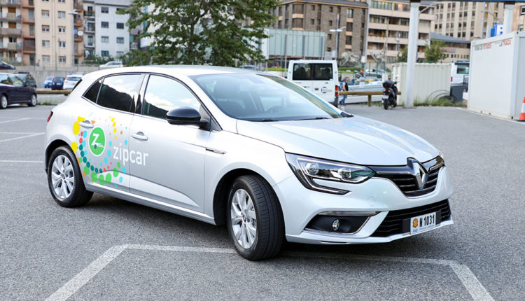 Cotxe Zipcar