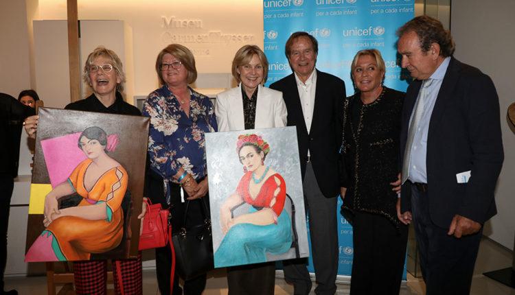 Subhasta Unicef Andorra al Museu Carmen Thyssen Andorra