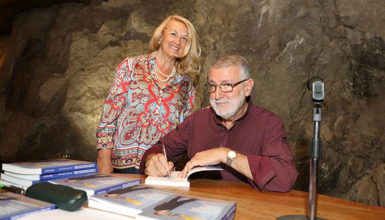 Enric Castellet i la seva dona