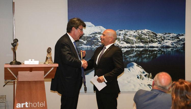 Canvi de president Rotary Club Andorra