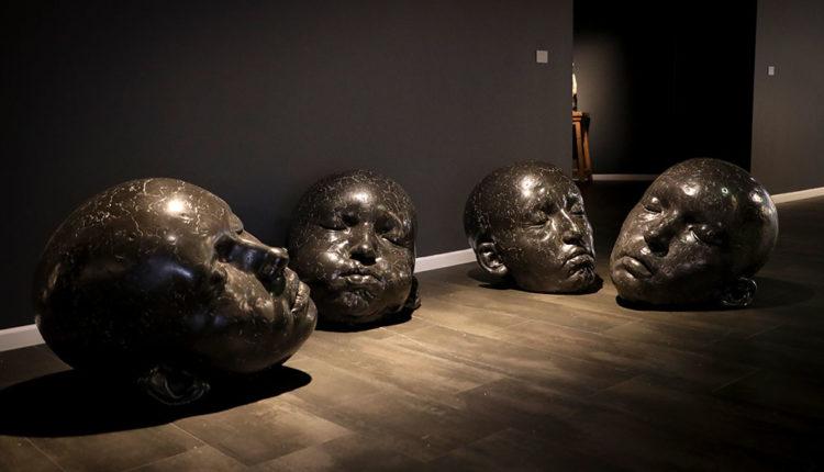 Escultures de l'artista Samuel Salcedo a l'Artalroc