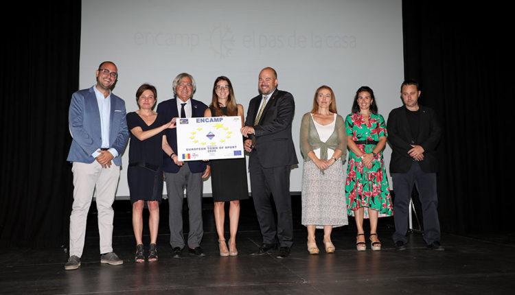 Presentació candidatura Encamp ACES Europe