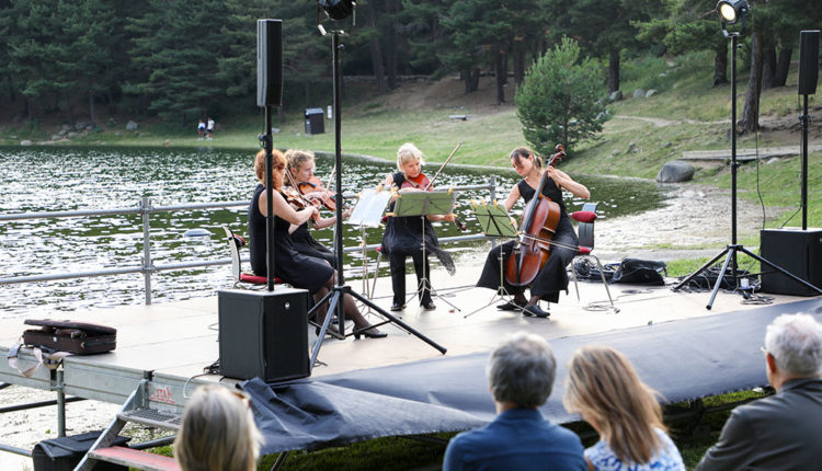 Concert de Giardino di Delizie al Llac d'Engolasters