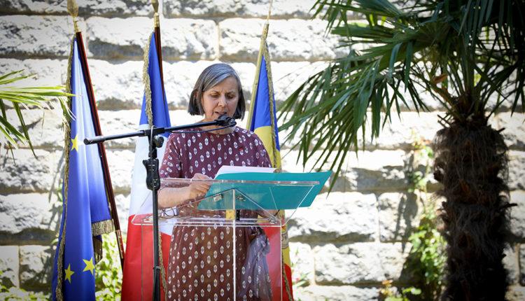 Jocelyn Caballero ambaixadora de França