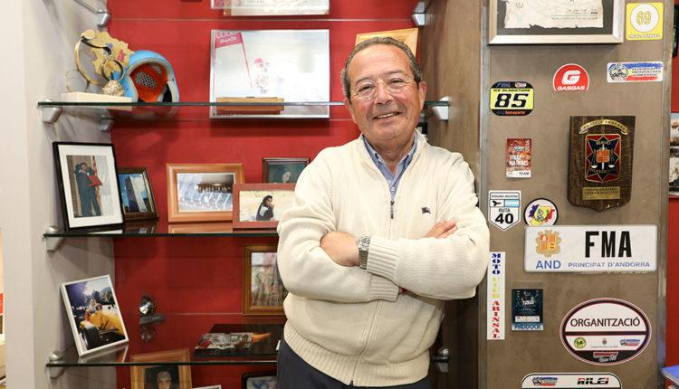 Toni Clascà és un apassionat de l'esport