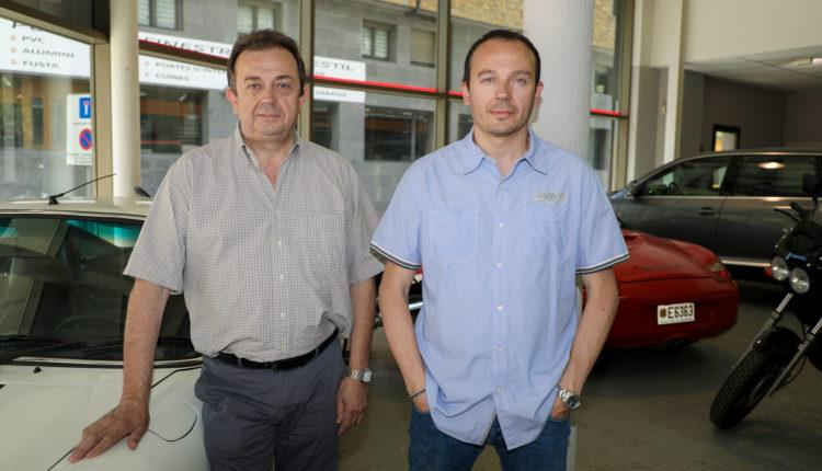 Joan March i Cristian March, d'Automòbils Montecarlo
