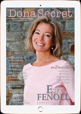 Revista Dona Secret 52: Ester Fenoll - Juliol 2019