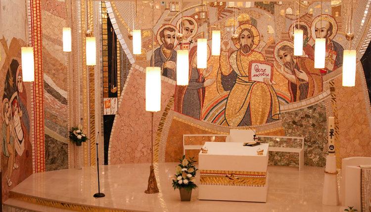 Altar església Sant Julià i Sant Germà